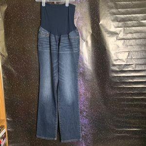 Indigo Blue-Dark Wash Maternity Jeans size Medium